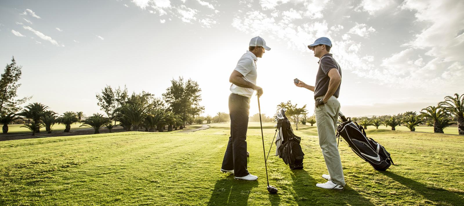 le golf est un sport éxigeant